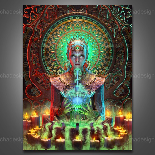 """""""Temple Of The Green Potion"""" #HighArt 2020"""