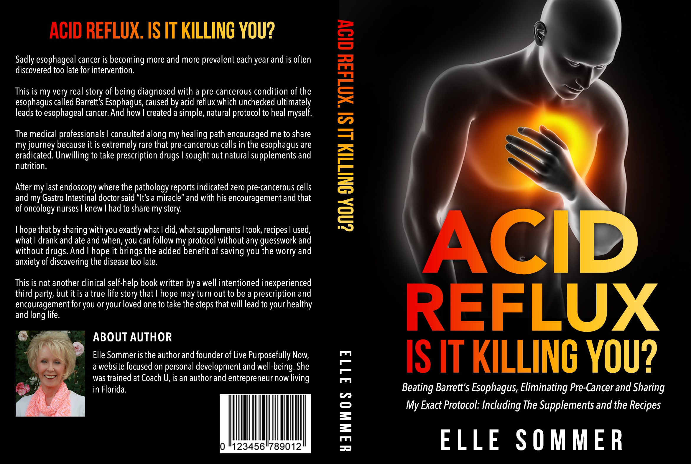 Create an eye-catching cover attracting instant attention. Could be a life saving book!