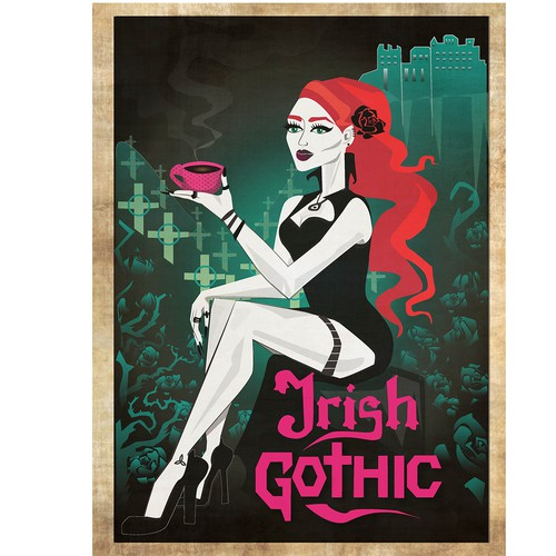 Ad for Irish Gothic c