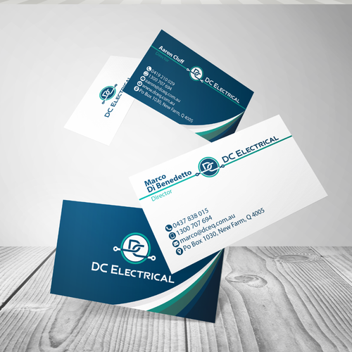 Business Card Design for DC Electrical