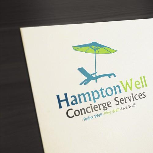 Create the next logo for HamptonWell Concierge Services