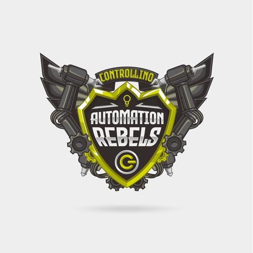 Automation Rebels Badge