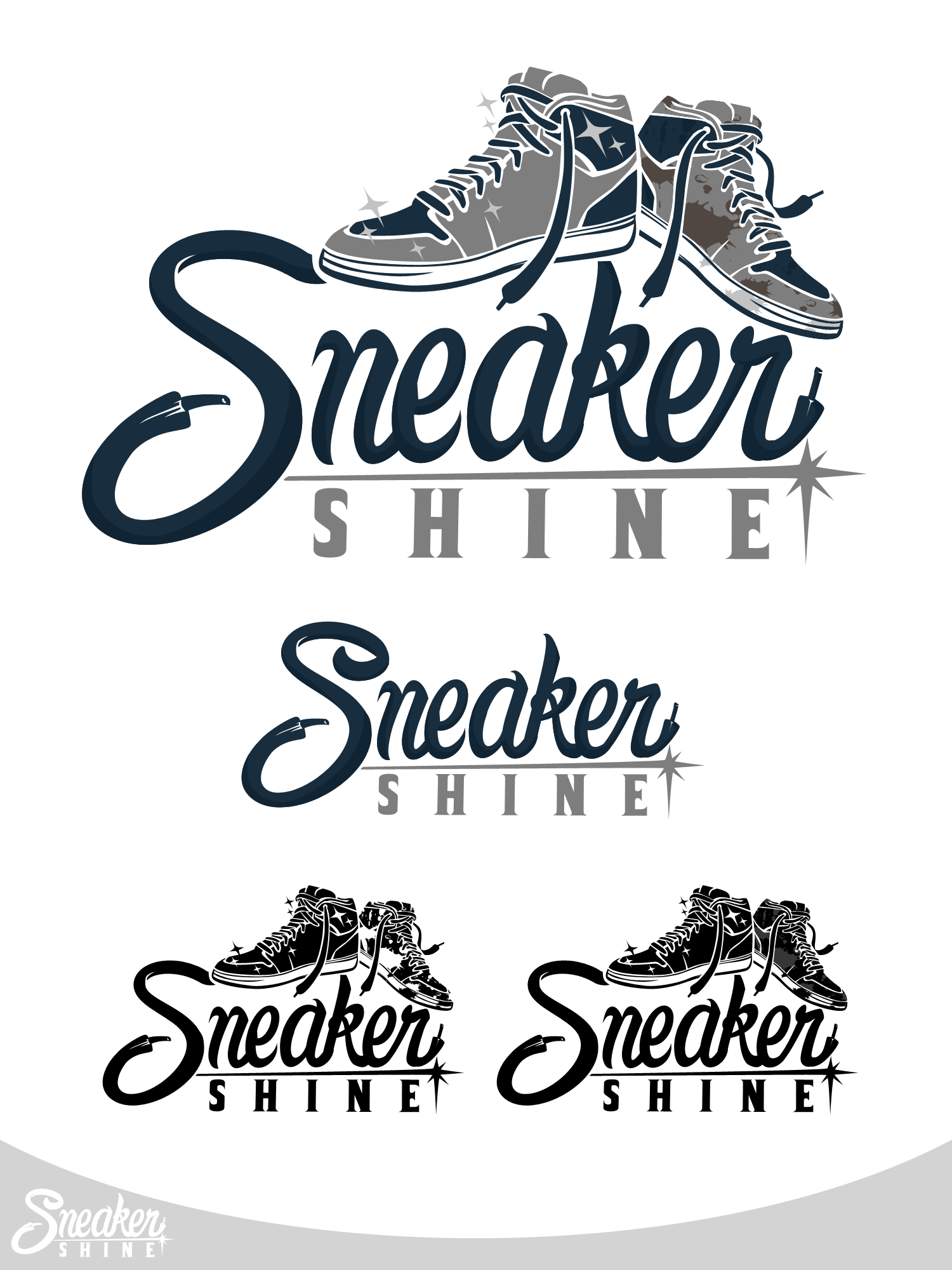 Sneaker Cleaning and Restoration concierge service looking for a high end logo.