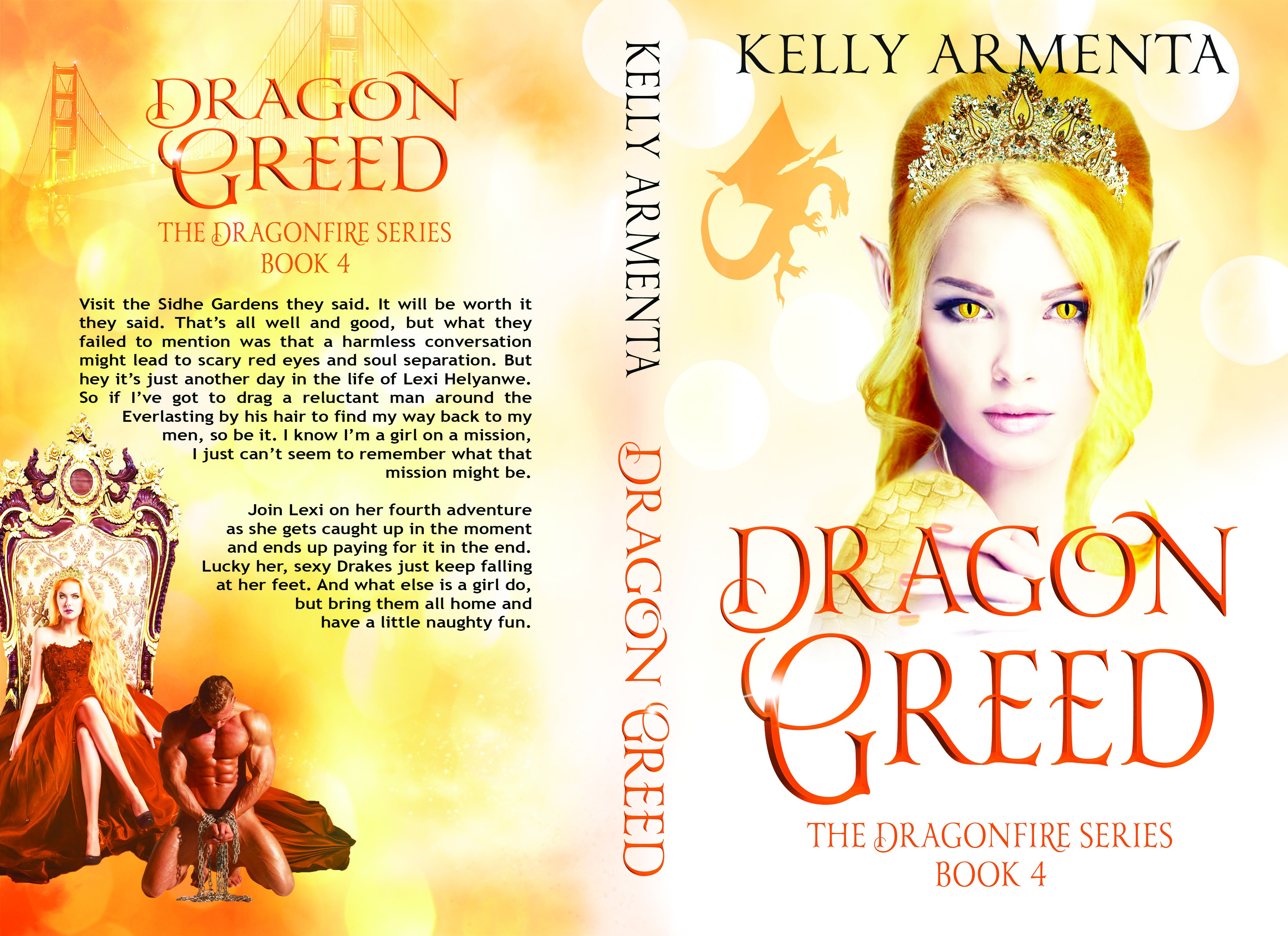 Design my Dragon Greed Book Cover
