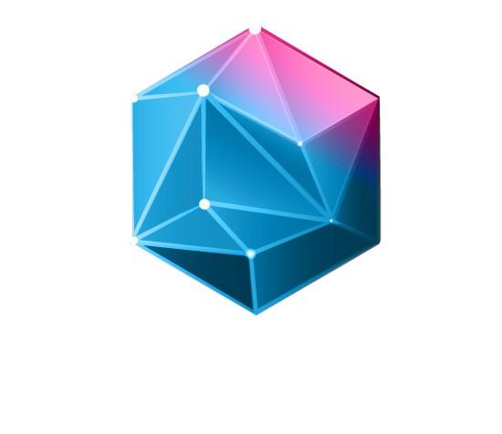 Create a modern logo for a startup tech company.