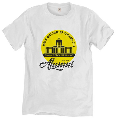 T-shirt design for BIT Mesra, Ranchi