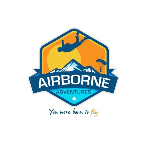 Airborne Adventures logo