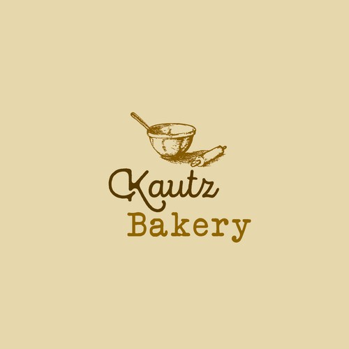 Rustic logo for bakery