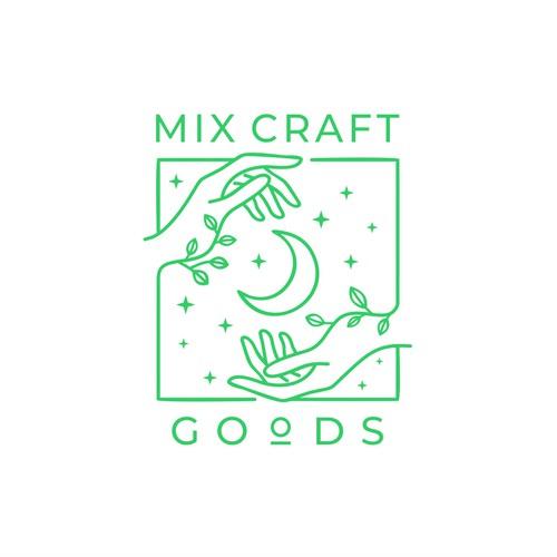 Mix Craft Goods Logo design