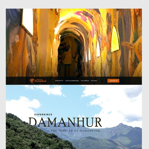 Homepage for Mystical Place | Damanhur
