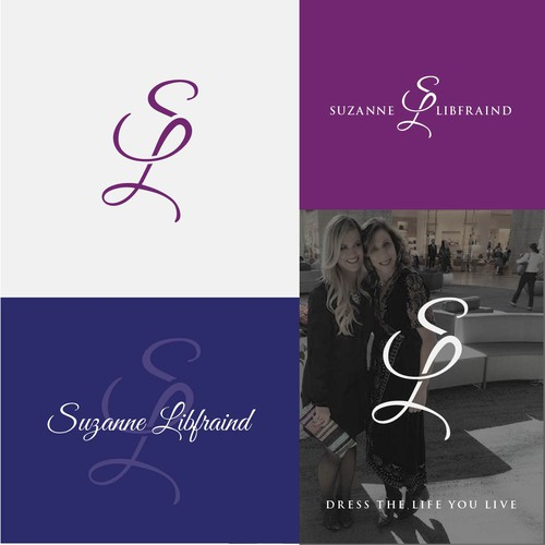 logo for  REBRAND Fashionista Suzanne!