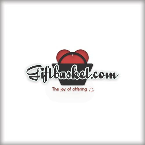 Logo pour une boutique de vente de paniers garnis.
