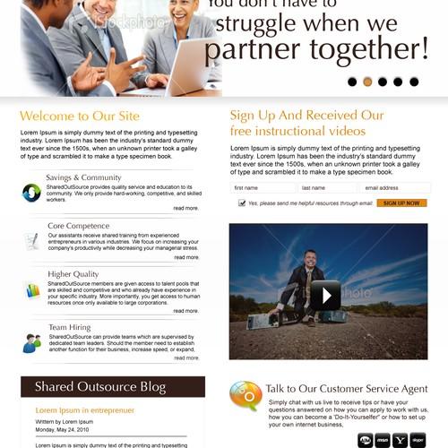 Community of i-Entrepreneurs Request Original Website Makeover