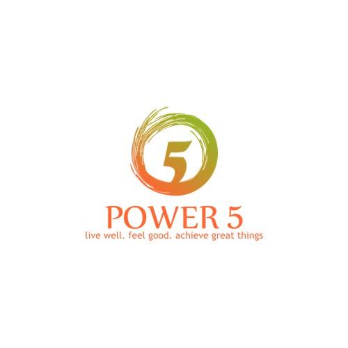 Power 5 energizing Logo