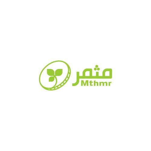 """logo for Money application - mthmr """"fruitful"""""""