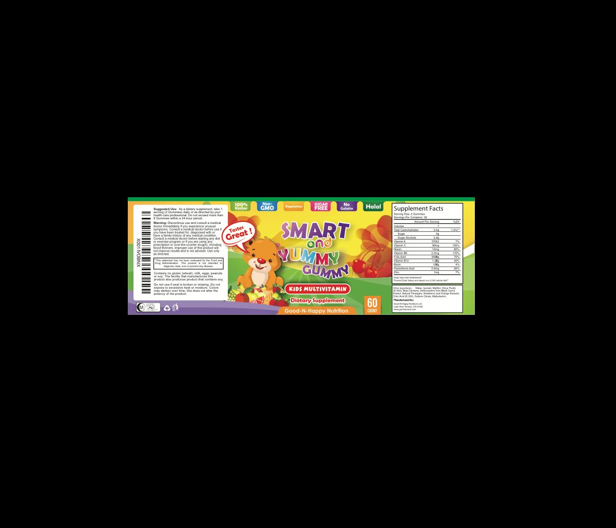 Smart and Yummy Gummy Label - Urgent