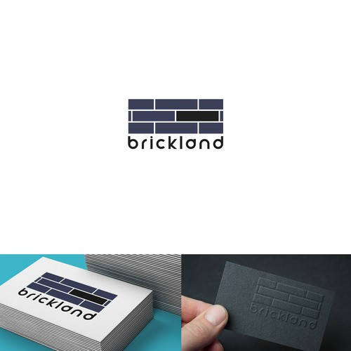 Brickland logo creation