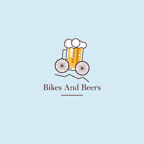 Logo Concept for Bikes and Beers