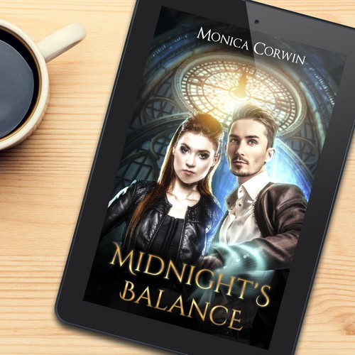 Book cover design for Midnight's Balance