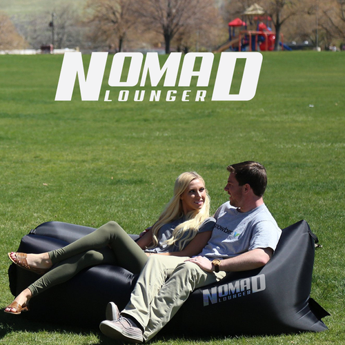 Simple , Bold logo concept for Nomad Lounger