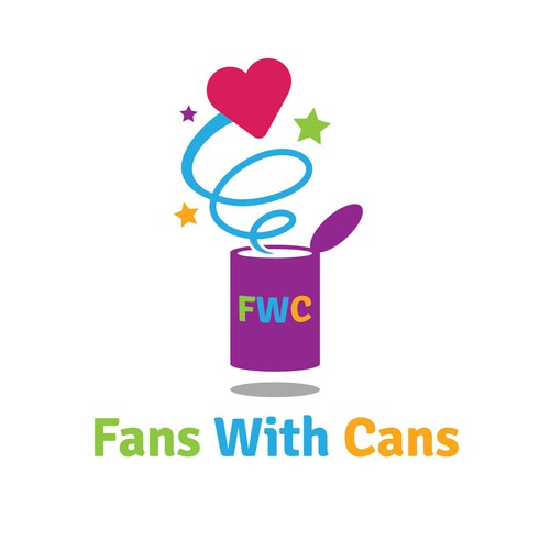 Fans With Cans (with major emphasis on the F, W, and C) needs a new logo