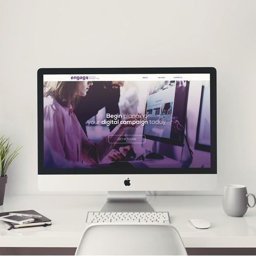 Engage Digital Marketing Website Design