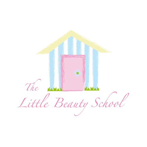 Create the next logo for The Little Beauty School