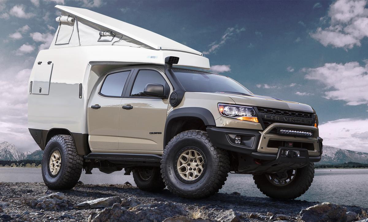 More expedition Truck Camper models