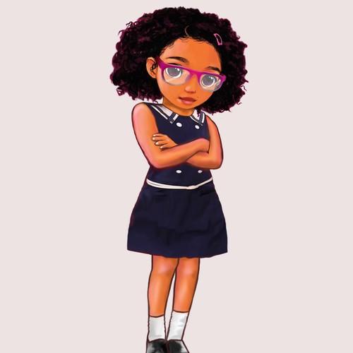 School Girl.