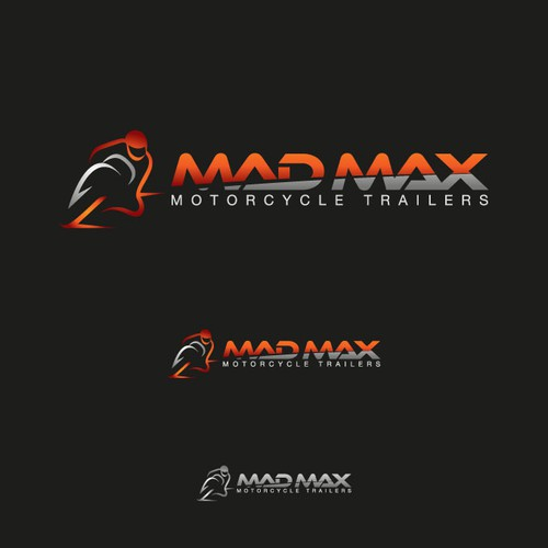 Create logo for MAD MAX Motorcyle Trailers