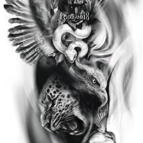 Bold tattoo concept