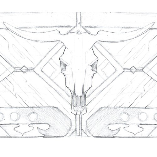 sketch for wallet