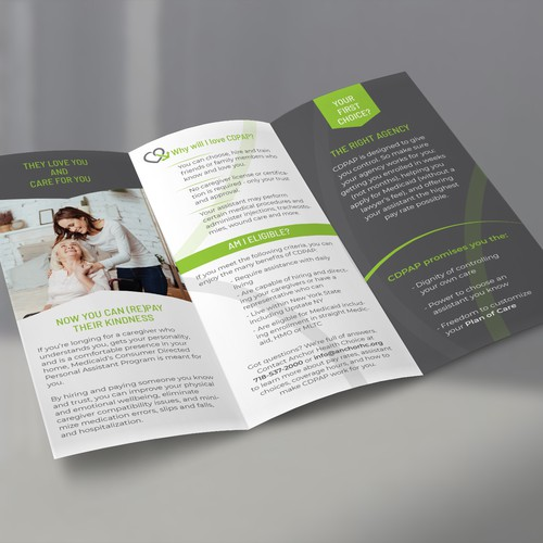 Tri Fold Brochure, Anchor Health