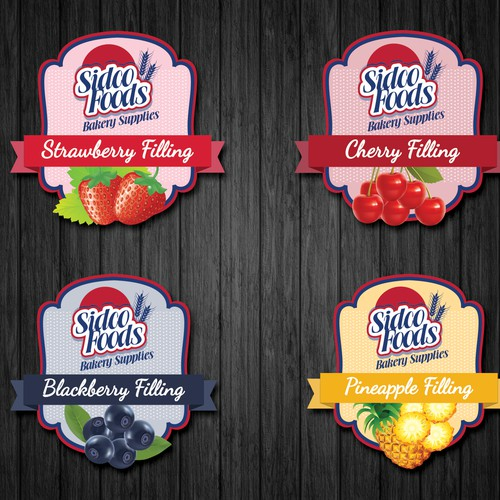 Fruit Fillings Designs