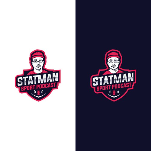 Logo Proposal for Statman Sport Podcast