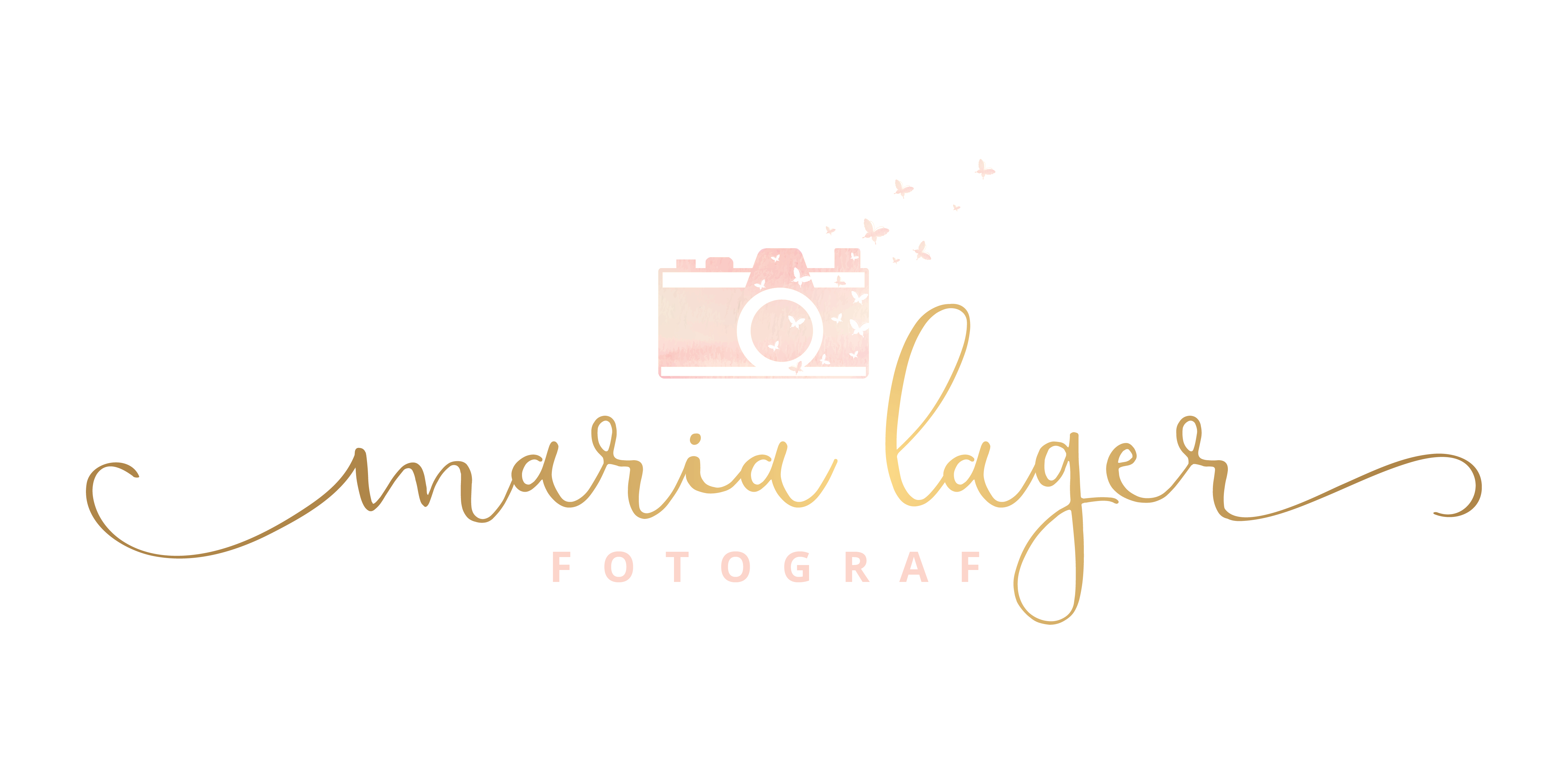 Design a Luxury logo for a modern wedding and maternity photographer