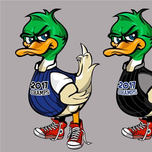 Duck Basketball