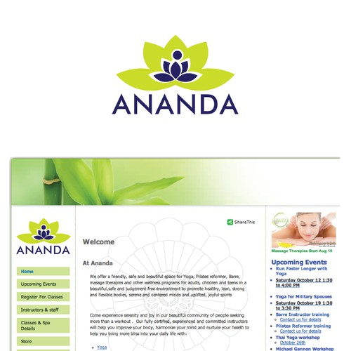 Create the next logo for Ananda