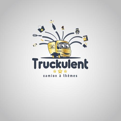 Création d'un logo pour un camion à thèmes