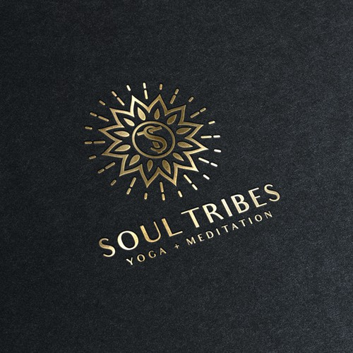 Soul Tribes logo/Yoga + Meditation