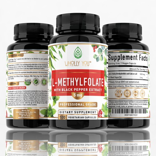 L-Mathylfolate supplement