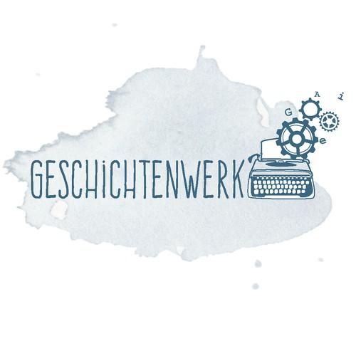 Logokonzept für Geschichtenwerk