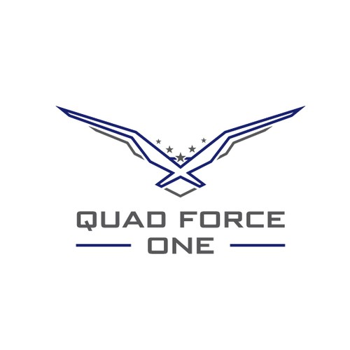 [Winner] Quad Force One logo
