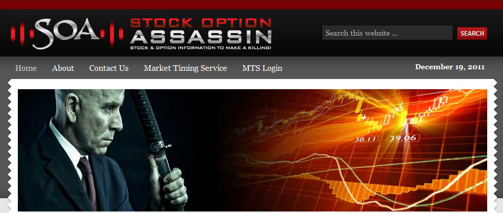 Stock Option Assassin Looking to Kill It with a Fresh logo!