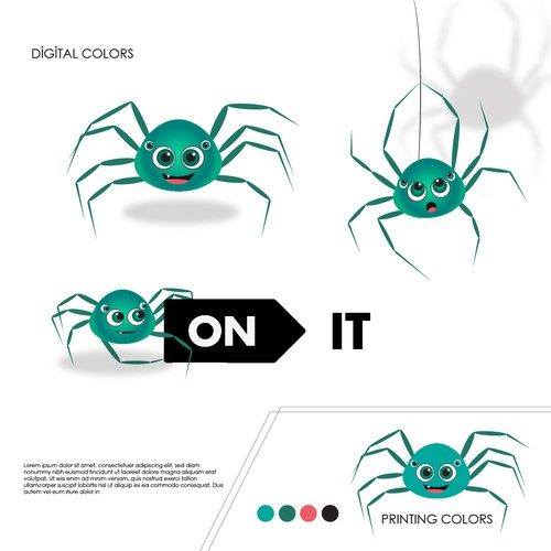 On It Mascot Design