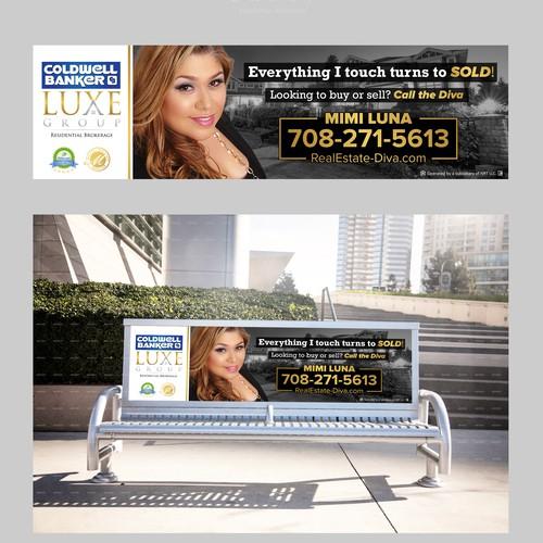 bench signage