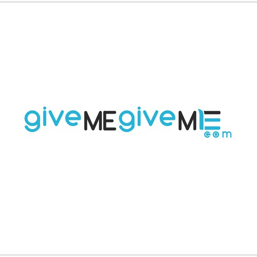givemegiveme.com needs a new logo