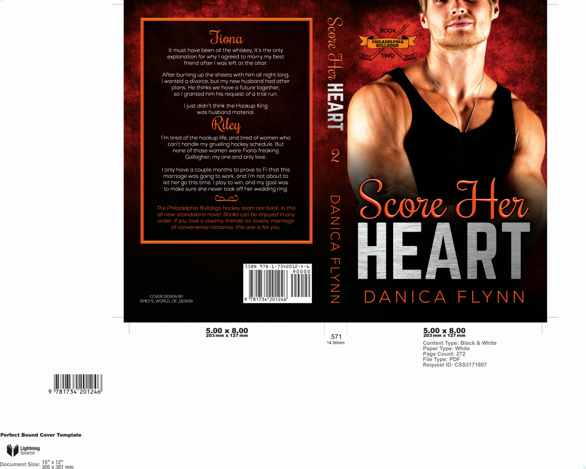 Score Her Heart Cover Package + Social Media Kit