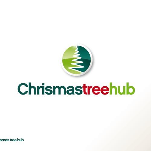 Design Logo For Christmas Tree Seller