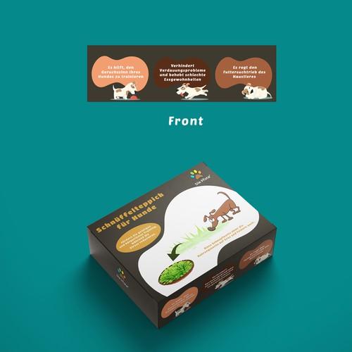 Box Design for Dog Mat